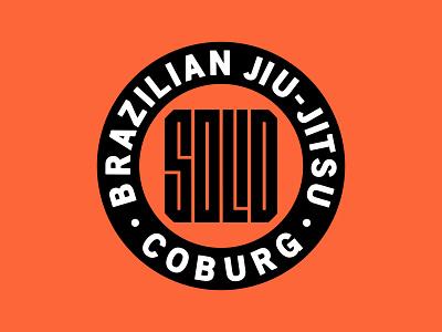 Solid Jiu-Jitsu Logo brazilian jiu jitsu sports badge solid logo jiu jitsu