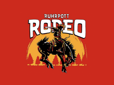 Ruhrpott Rodeo 2019 punk ruhrpottrodeo western logo