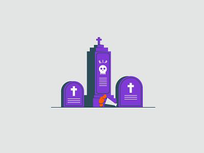 Vectober 2020 – Day 23 Rip tombstone grave rip inktober2020 inktober vectober2020 vectober design vector kansas city