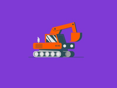 Vectober 2020 – Day 24 Dig construction dig inktober2020 inktober vectober2020 vectober illustration design vector kansas city