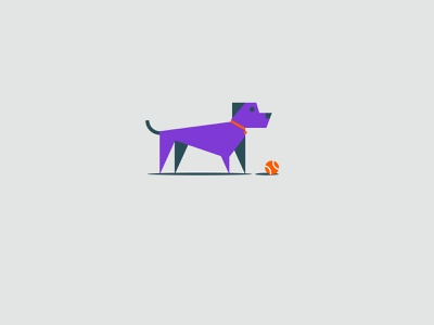 Vectober 2020 – Day 25 Buddy dog puppy buddy inktober2020 inktober vectober2020 vectober illustration design vector kansas city