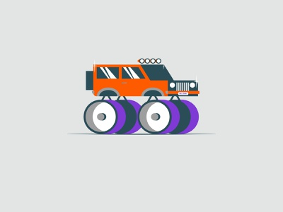 Vectober 2020 – Day 31 Crawl mall crawler crawl inktober2020 inktober vectober2020 cars vectober automotive orange illustration design vector kansas city