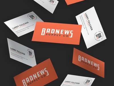 Badnews Business Cards