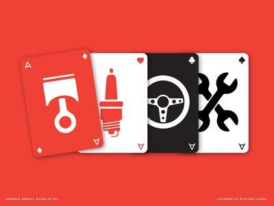 Automotive Playing Cards (Weekly Warm-up 11)