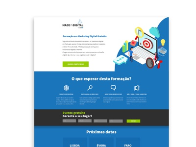 MADE IN DIGITAL power by WebHS   Landing Page