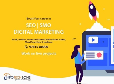 Kick Start Your career in SEO/SMO