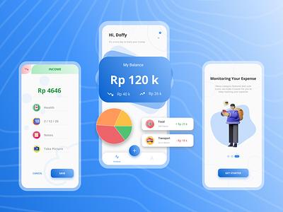 Money Management App wallet app money app wallet money design ui design