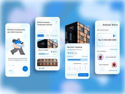 Kosarium - Crowdfunding App home house dorm flat invest app invest crowdfunding app crowdfunding