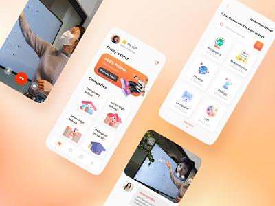 Oducation - Education App education app ui design education