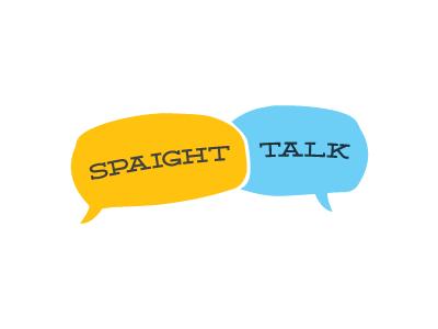 Spaight Talk Logo logo design