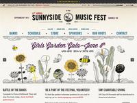 Sunnyside Music Fest Website