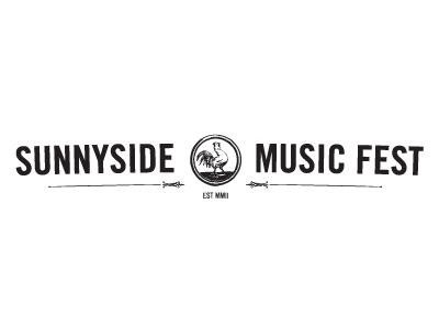 Sunnyside Music Fest Logo logo design