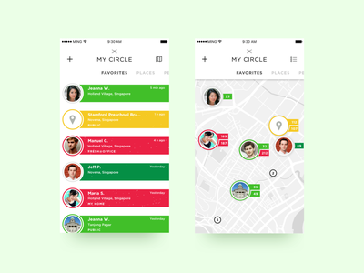 Air Quality Monitoring App air quality smart home smart city app ux ui saas design
