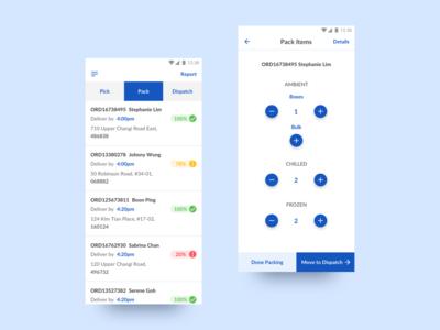 In-Store Fulfilment App