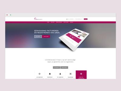 Redesign for website