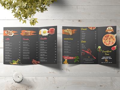 Tri Fold Brochure corporate flyer corporate brochure design brochure flyer advert