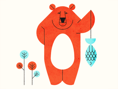 Bears Do Say Sorry - Parko Polo illustration parko polo bear