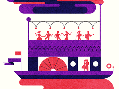 Steamy Night - Parko Polo illustration love