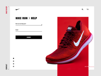 Daily UI Challenge—Contact