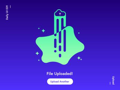 Daily UI Challenge—Upload
