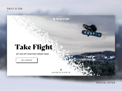 Daily UI Challenge—Special Offer