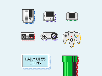 Daily UI 55—Icon Set