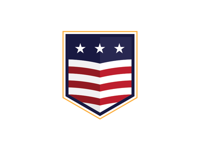 USA! us soccer identity badge soccer usa