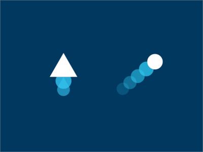 Shuttle & Telescope Marks telescope shuttle branding mark logo icon app