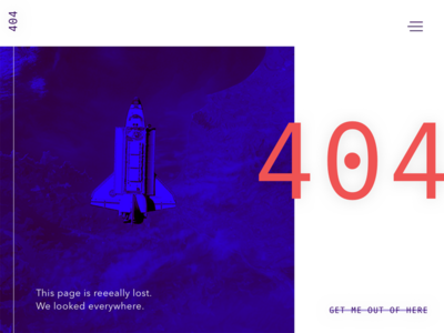 Daily UI 008 - 404 Page brutalist dailyui 404
