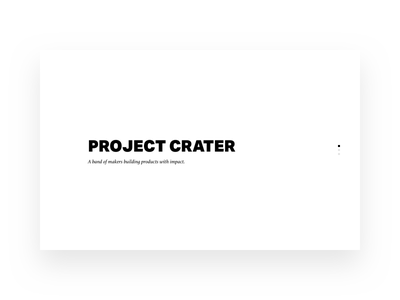Freelancer Collective white black monochrome minimal