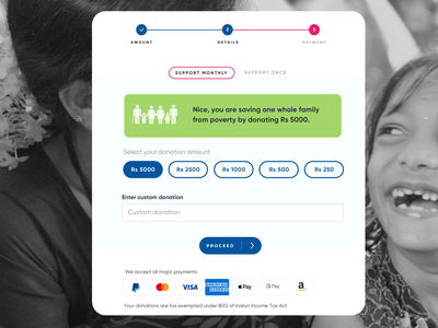 Enhancing UX of NGO website using behavioural science payment charity ui donation ngo behavioral science behavioural science