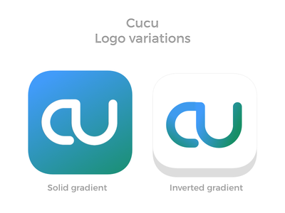Cucu logo variations ios logo game cucu
