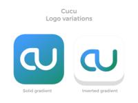 Cucu logo variations