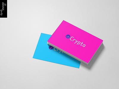 Crypto Logo web typography graphicdesign branding design logos