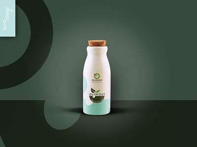 Branding and Packaging Design Olivious Oil minimal web vector logo flat illustration designart branding graphicdesign design