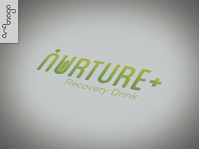 Nurture Logo typography logo designart illustration branding graphicdesign design