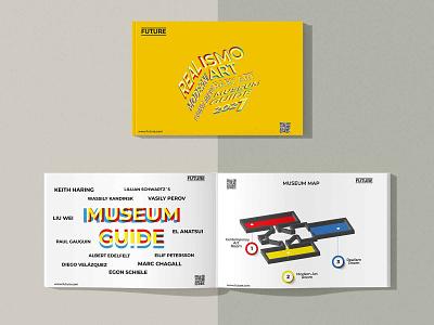 Museum Guide.Print Layout Design printing vector typography illustration designart graphicdesign design