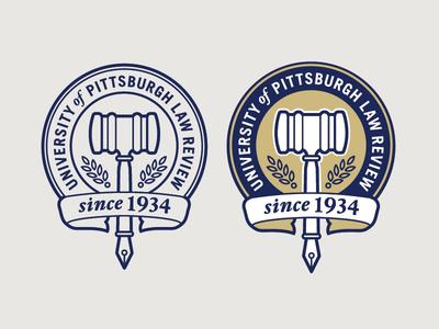 Pitt Law Review Logo