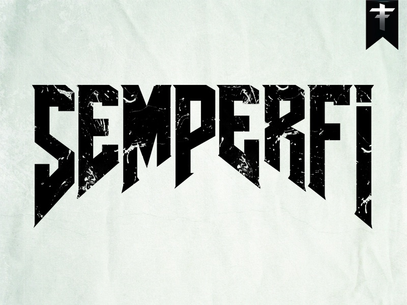 semper fi by richard dribbble dribbble