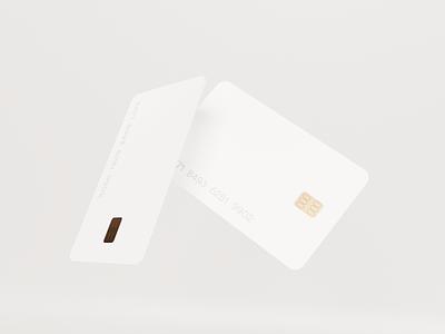 3D / brand exploration design credit card branding colorful blender figma vibrant finance fintech app ui 3d