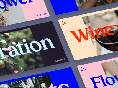Covers for events figma branding event art minimal photo typography font grid fashion web ux networking design colors ui cover