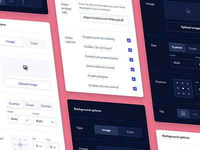 Editor sidebar product design product design edit structure ui ux figma dark mode editor sidebar minimal