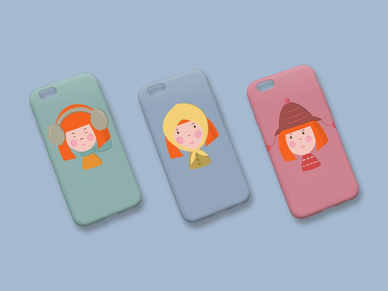 Alani Girl/Character Design/Iphone Case