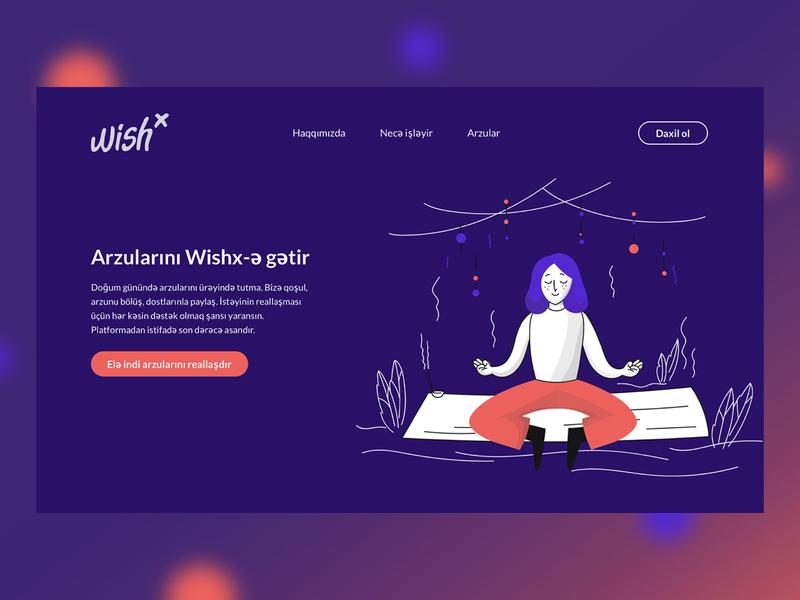 WisX Landing Page