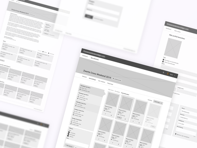 Wireframes – Security supervisor security guard security user experience web platform website web app application grey white interface web design webdesign ux ui design wireframing wireframes wireframe
