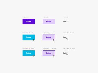 Event security platform (buttons) app design event security blue purple button buttons application web app app sketch user interface user experience web design ux interface website ui webdesign design