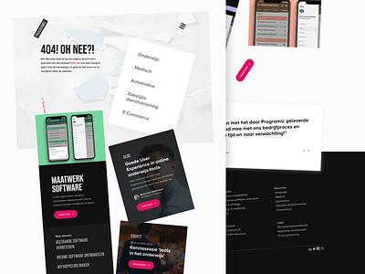 Programic website redesign - 404 page portfolio experience digital agency error 404 page case study development agency 404 sketch redesign user interface user experience web design ux interface ui website webdesign design