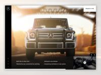 Mercedes-Benz G-Class concept redesign