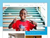 Unicef concept redesign