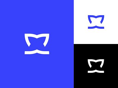 Unused logo mark black purple blue brand design logo design unused symbol flat brand logo mark icon typography illustration redesign mark branding logo design